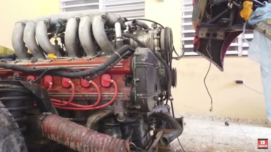 Ferrari Testarossa 1988 ripristino