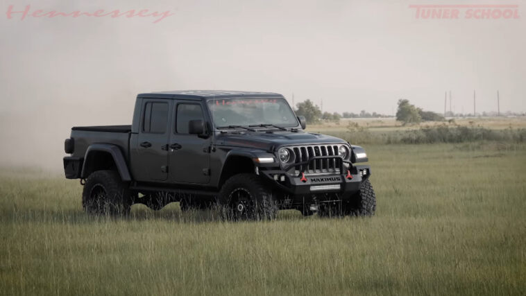 Hennessey Maximus Jeep Gladiator test sospensioni