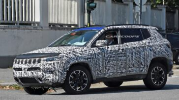 Jeep Compass 2022 foto spia