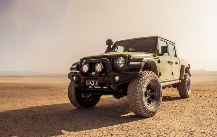 Jeep Gladiator sospensioni AEV