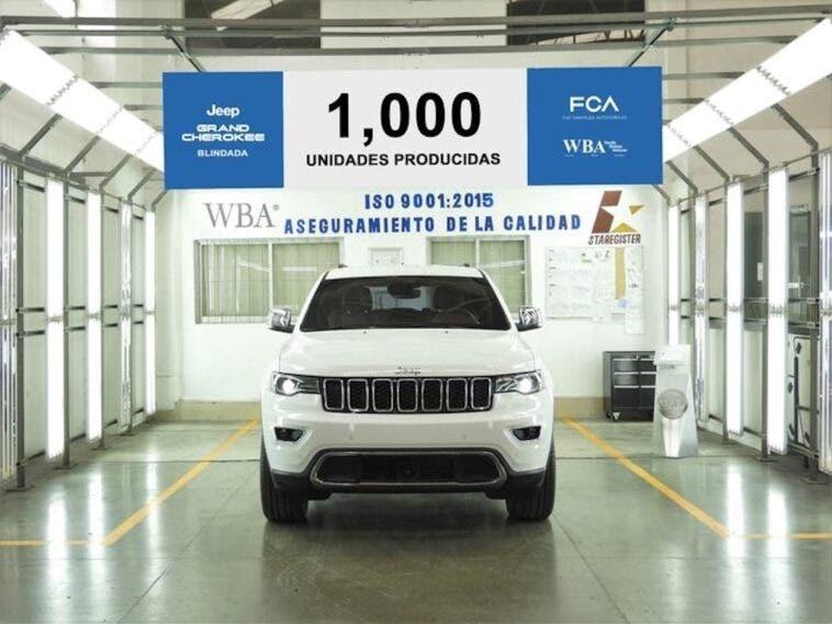 Jeep Grand Cherokee Blindada esemplare 1000