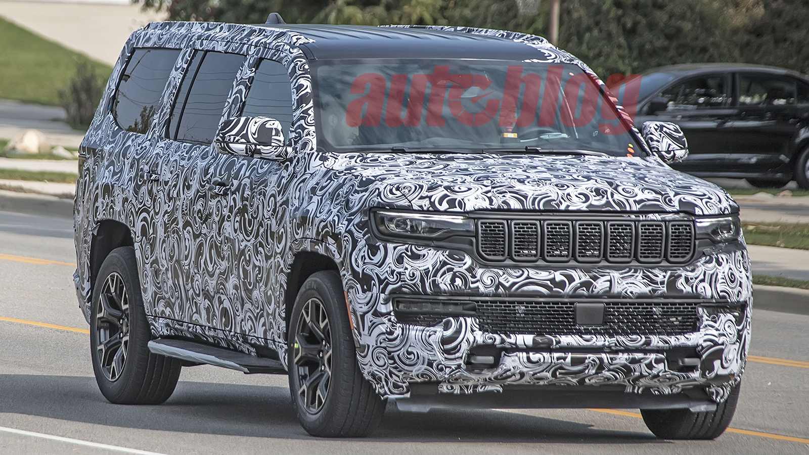 Jeep Grand Wagoneer 2022 foto spia