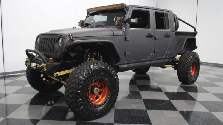 Jeep JK 2014 modificata