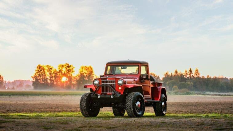 Jeep Willys Pickup modificato asta