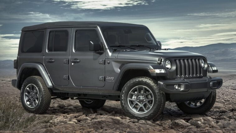 Jeep Wrangler 80th Anniversary Edition