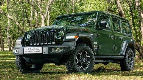 Jeep Wrangler Rubicon Recon Cina