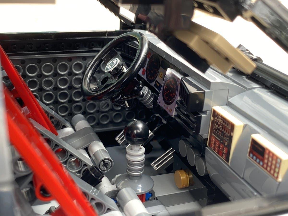 Lancia Delta HF Integrale LEGO