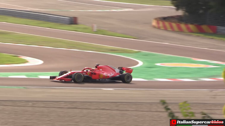 Mick Schumacher Ferrari SF71H Fiorano