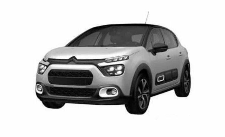 Nuova Citroën C3 brevetto Brasile