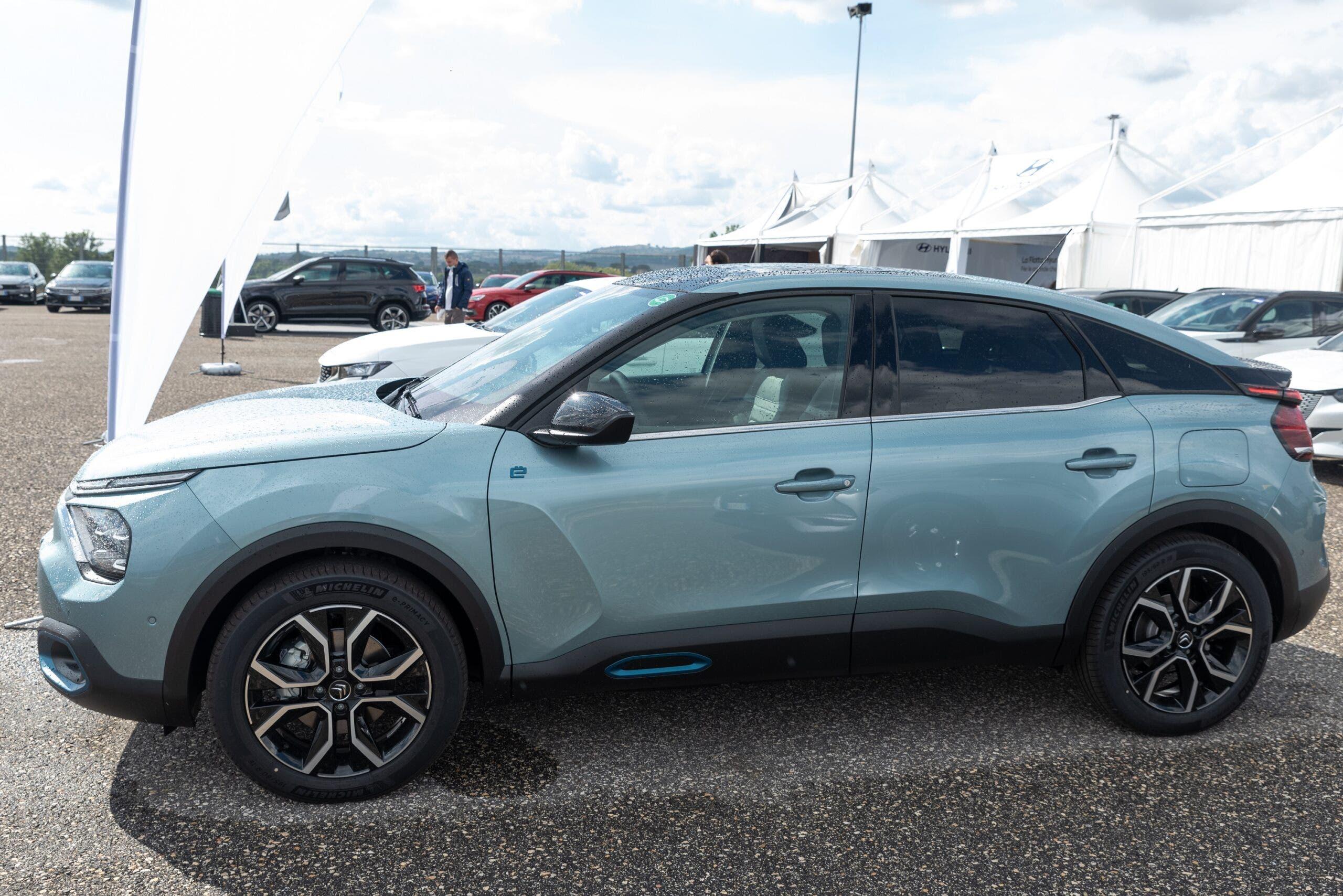 Nuova Citroën ë-C4 Fleet Motor Day 2020