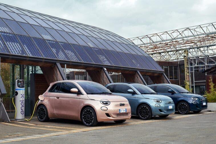 Nuova Fiat 500 Elettrica