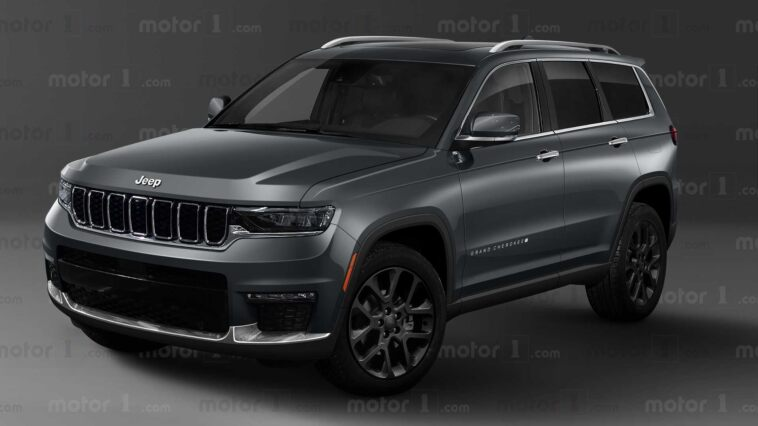 Nuova Jeep Grand Cherokee render
