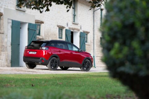 Nuova Peugeot 3008 Black Pack