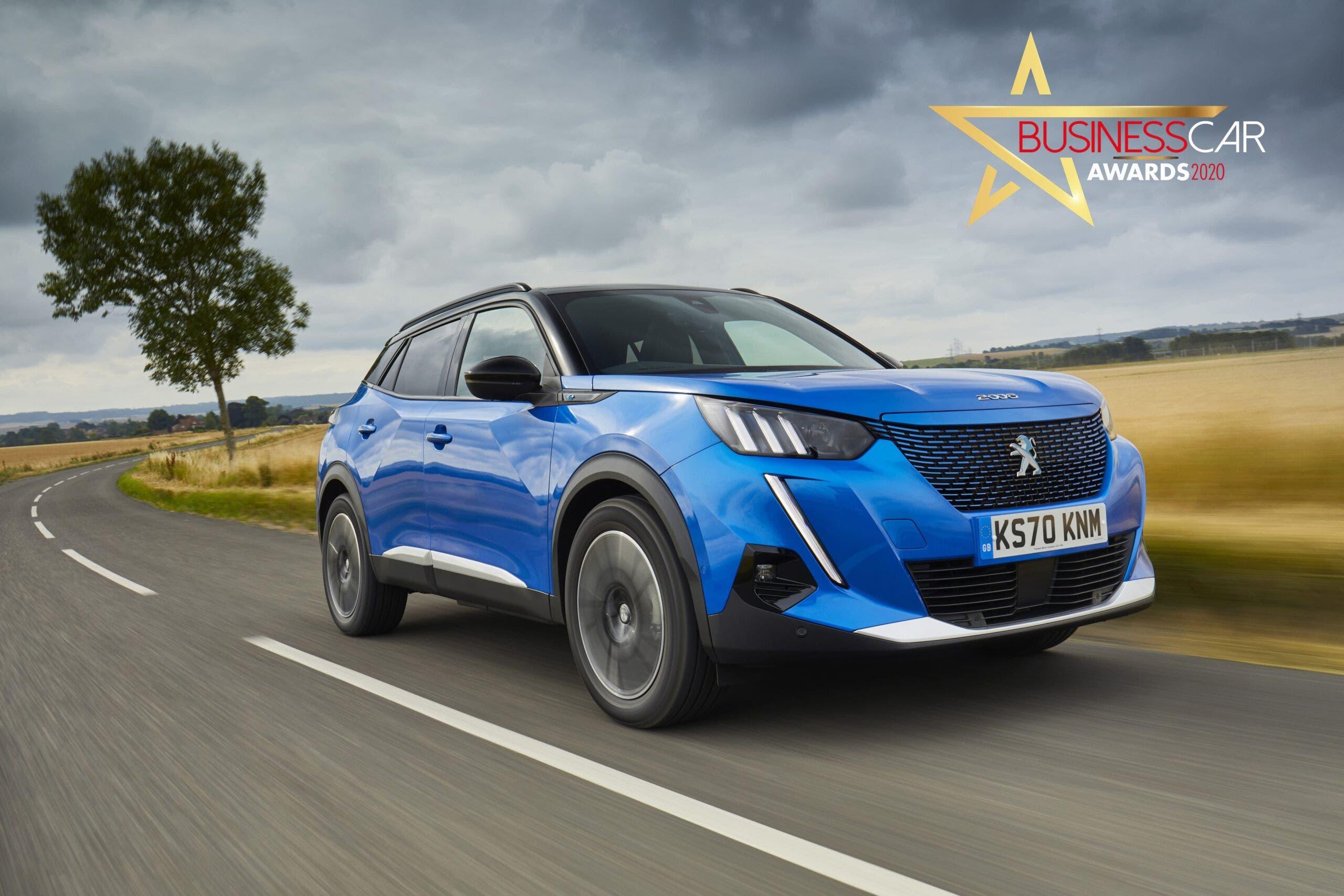 Nuova Peugeot e-2008 Business Car Awards