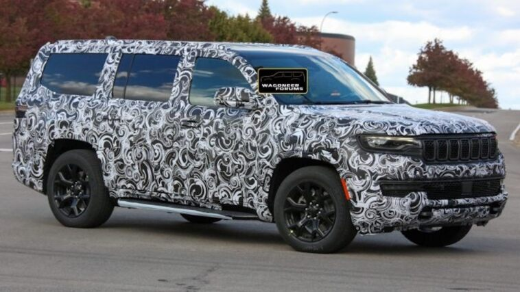 Nuovo Jeep Wagoneer ultime foto spia