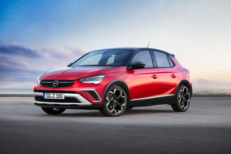 Opel Corsa Cross render