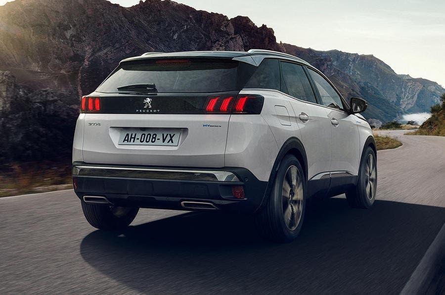 Peugeot 3008 2021 Regno Unito