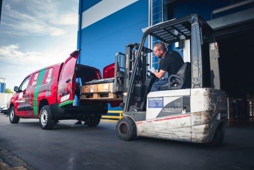 Peugeot Partner 4x4 Dangel Best Cargo Van Lituania
