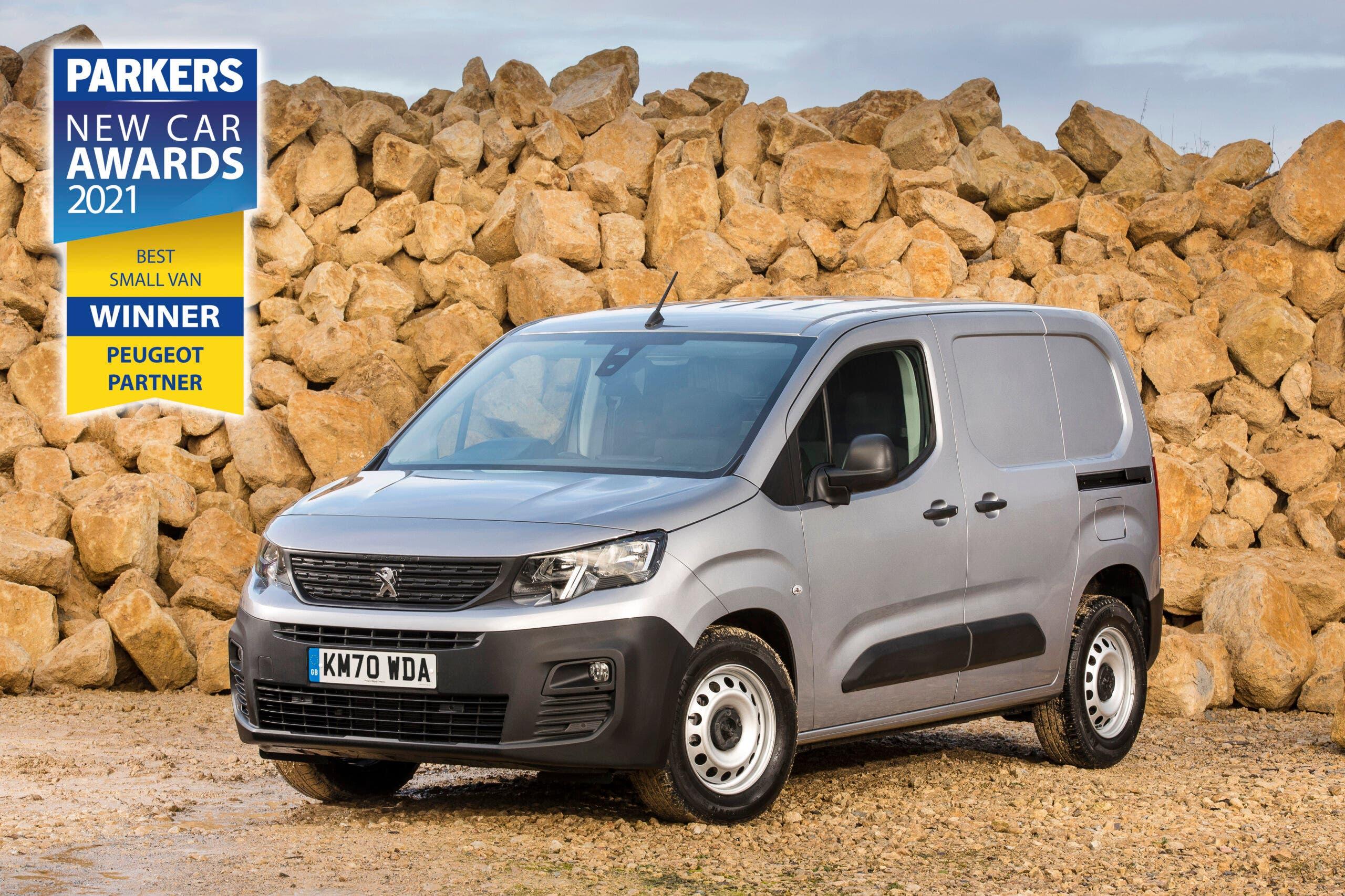 Peugeot Partner Parkers New Car Awards 2021
