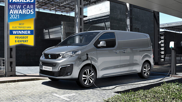 Peugeot e-Expert Parkers New Car Awards 2021