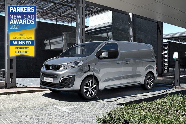 Peugeot e-Expert Parkers New Car Awards 2021