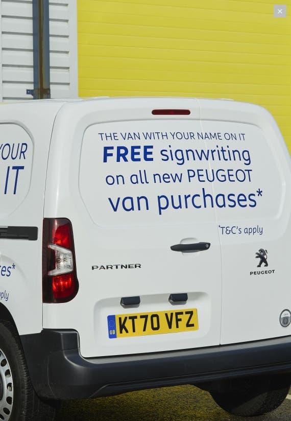 Peugeot offerta gratuita Regno Unito