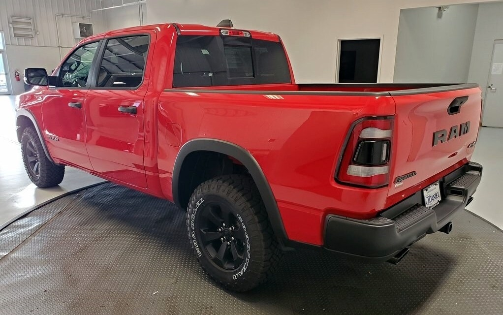 Ram 1500 Rebel Night Edition 2021