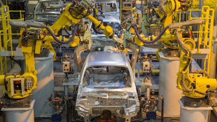 Regno Unito produzione auto
