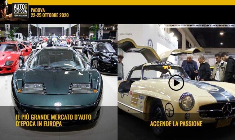 Salone Auto e Moto d'Epoca 2020 Padova