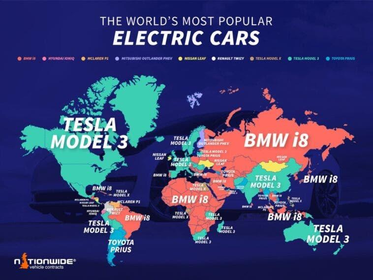 Veicoli elettrici più popolari