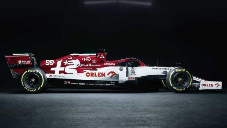Alfa Romeo Racing Livrea Imola