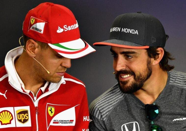 Vettel Alonso