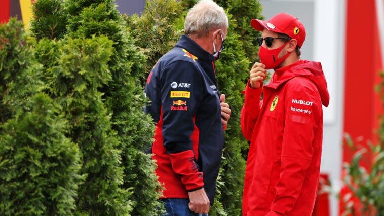 Vettel e Marko