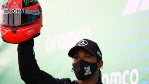 Mick Schumacher e Lewis Hamilton