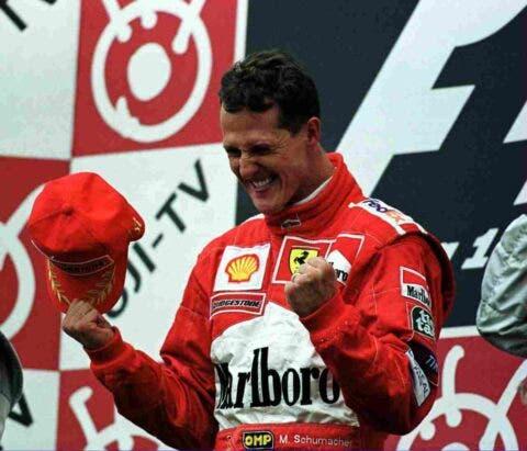 Schumacher Suzuka 2000