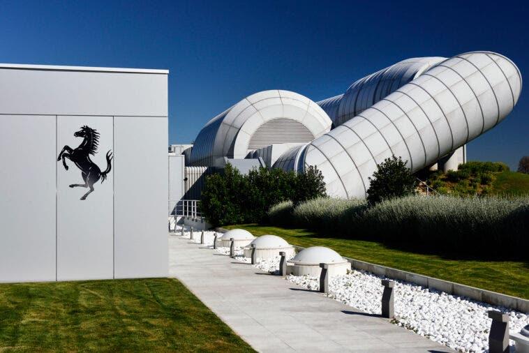 Galleria del vento Ferrari