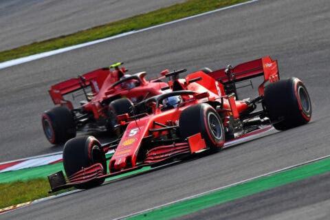 Leclerc Vettel Turchia