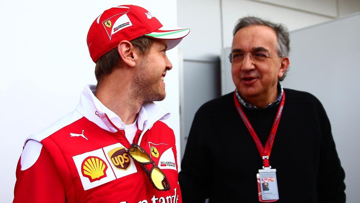 Vettel con Marchionne
