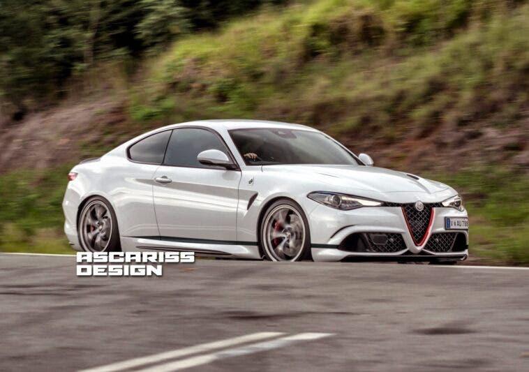 Alfa Romeo Giulia Coupé render
