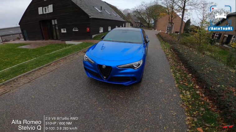 Alfa Romeo Stelvio Quadrifoglio Olanda