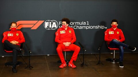 Vettel Leclerc Binotto