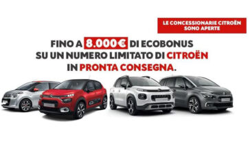 Citroën Ecobonus 8000 euro