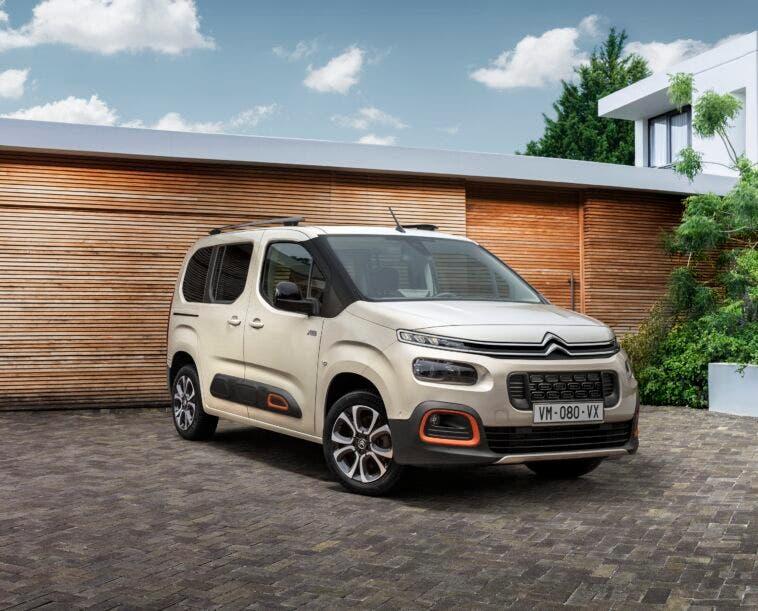 Citroën Berlingo nuova gamma Italia