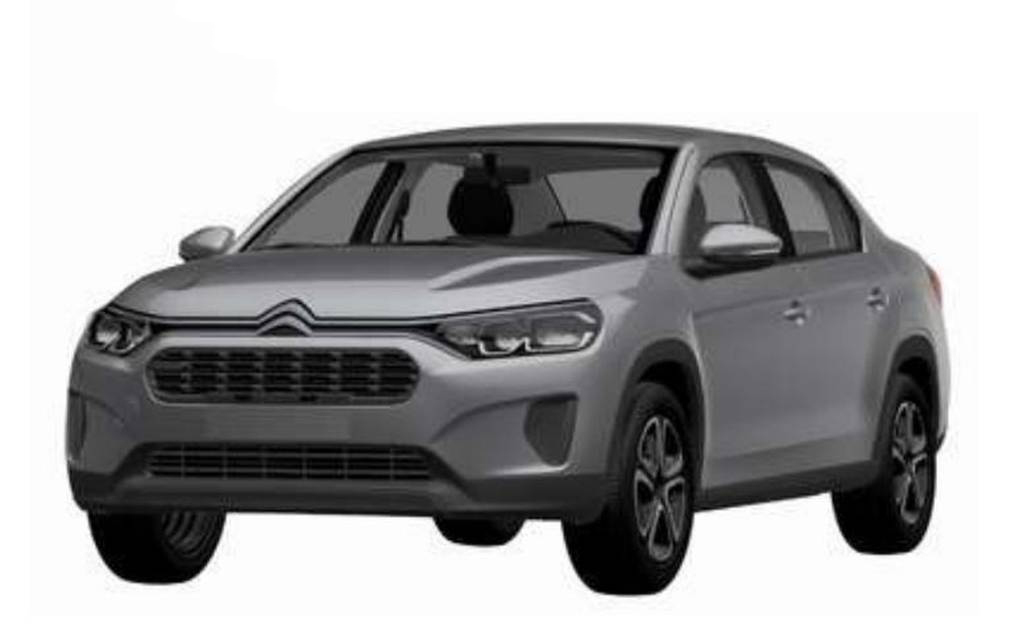 Citroën C3L brevetto Brasile
