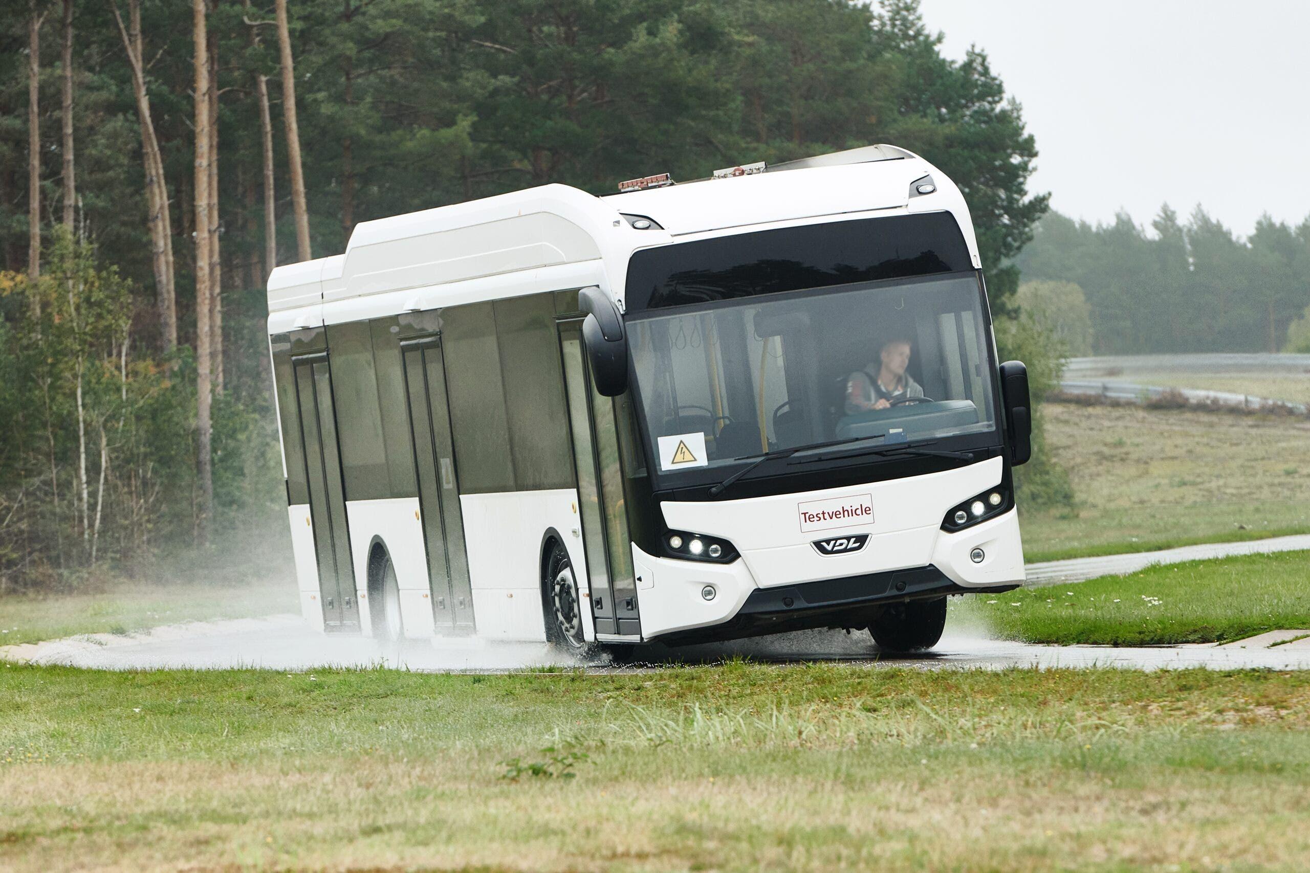 Continental prototipo pneumatico autobus elettrici