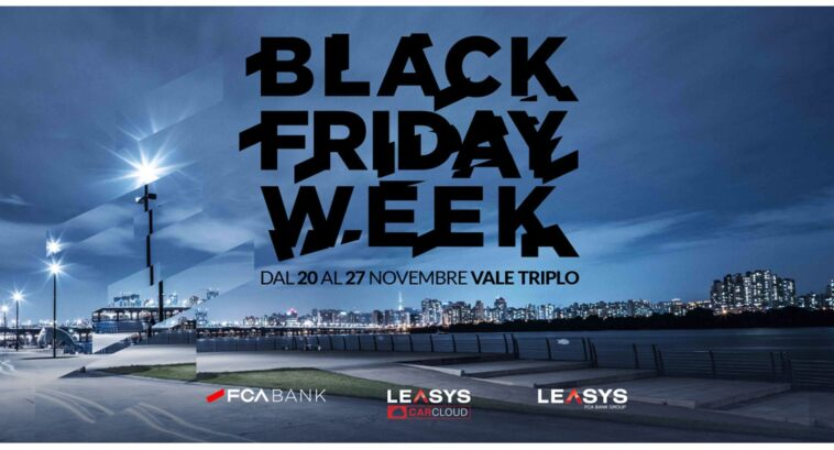 FCA Bank Black Friday Week