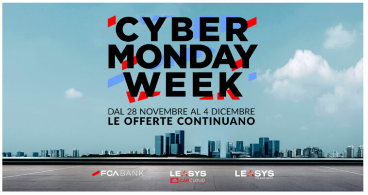 FCA Bank Cyber Monday Week