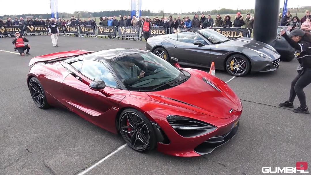 Ferrari California T drag race