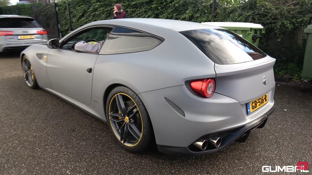 Ferrari FF sound Gumbal