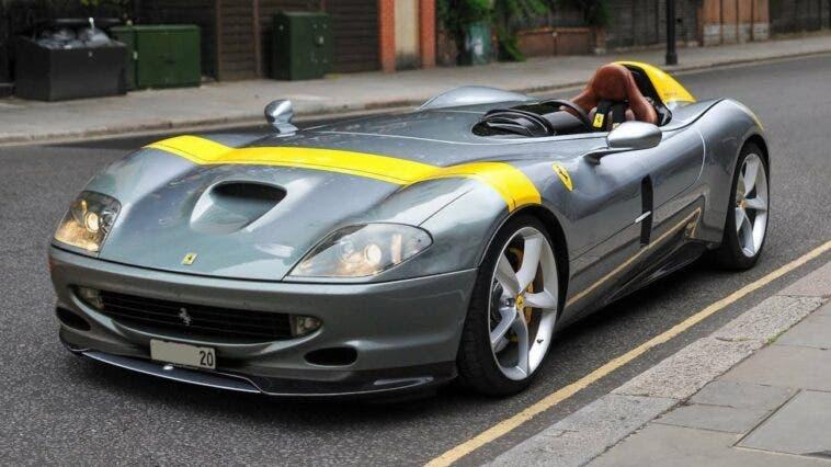 Ferrari Monza SP1 550 Maranello render